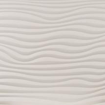 Infrarotpaneel | Material: Beton - Design: PUR Welle (dreidimensionale Oberfläche) von heat-style LINHART Graz