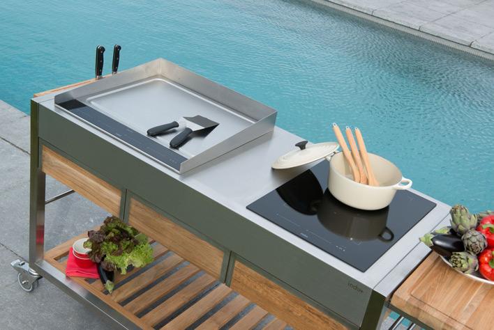 Outdoor‐Küchen von indu+