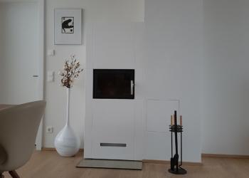 Holzbrandofen | Modell: Individuell verbauter Kamin | heat-style LINHART Graz