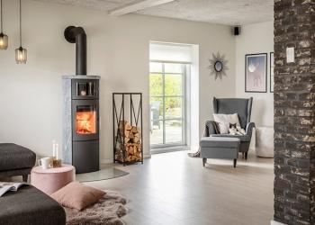 Holzbrandofen | Modell: SCAN Line mit Backfach | heat-style LINHART Graz